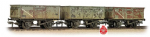 Bachmann Branchline 37-235A Weathered Tripple Pack 16T Mineral Wagons BR Grey